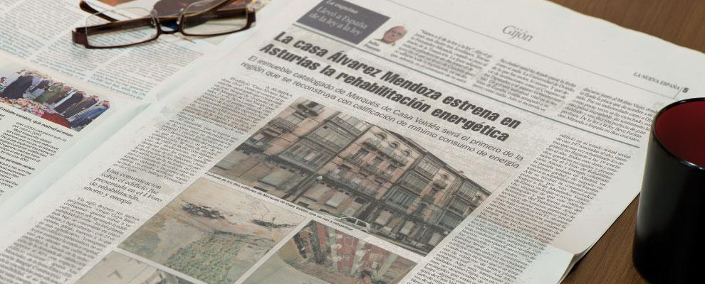 La casa Álvarez Mendoza estrena en Asturias la rehabilitación energética